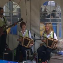 Das eidgenössische Volksmusikfest in Aarau ist erfolgreich über die Bühne, super Stimmung 12. September 2015